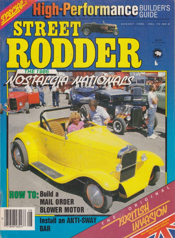 Special Street Rodder 1986 Nostalgin Nationals Vol-15 No.8