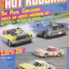 Hot Rodding Magazine Buick GN VS Mustang GT Aug-1986