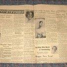 Wahoo Ne Newpaper Society Terry Lippold John Mills Shirley Epperson  Patti Hapke Connie Behrens 1966