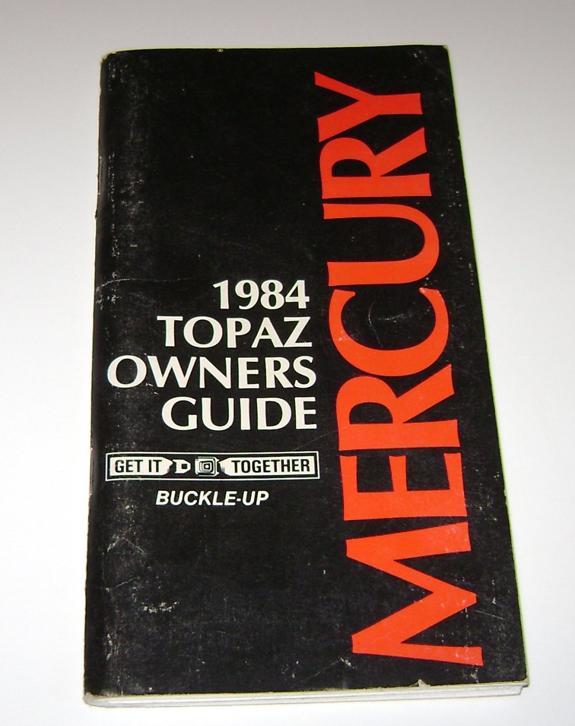1984 Mercury Topaz Owners Guide