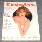 Esquire magazine Feb 1961 Salome Jens Salle Santelli David Levine