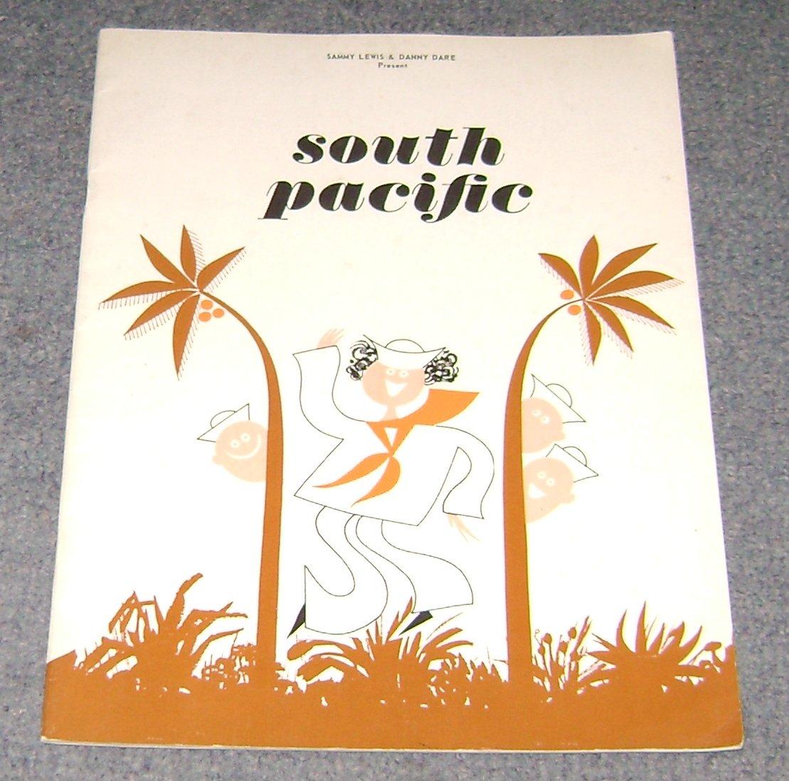 south pacific  sovenir program Betsy Palmer Jean Pierre Aumont