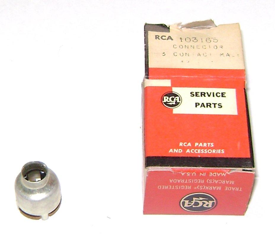 RCA service part connector 103165