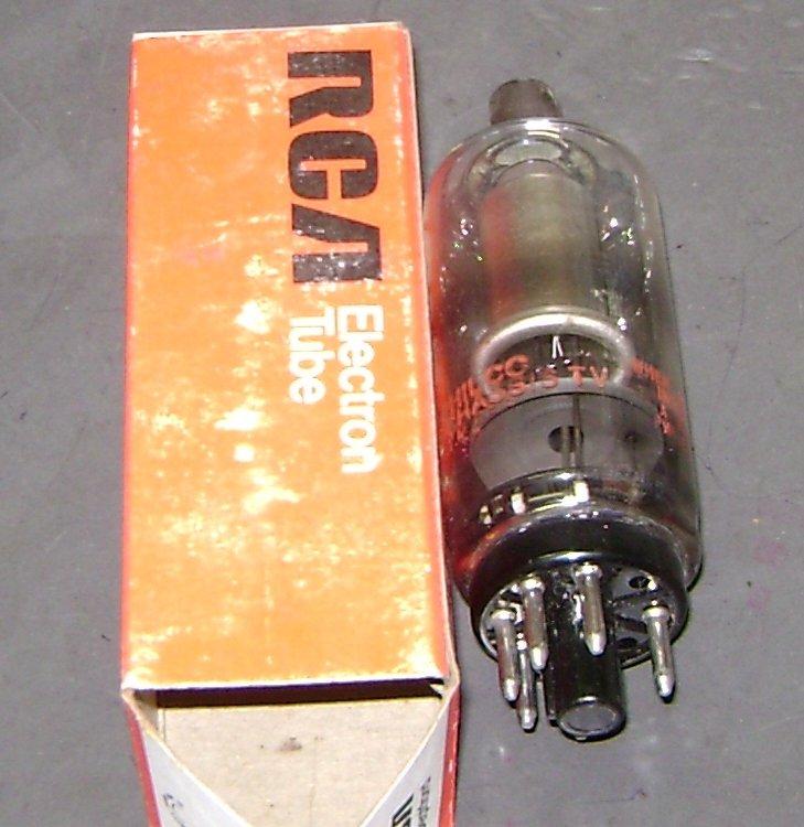Philco 3A3C vacuum tube used