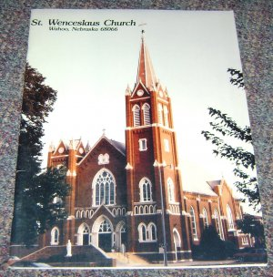 St Weceslaus Church Wahoo Nebraska 1992 Parish Directory