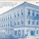 Hotel Magil Postcard Fremont Nebraska