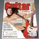 Guitar One magazine Jan 2003 Lesson w/ John Frusciante