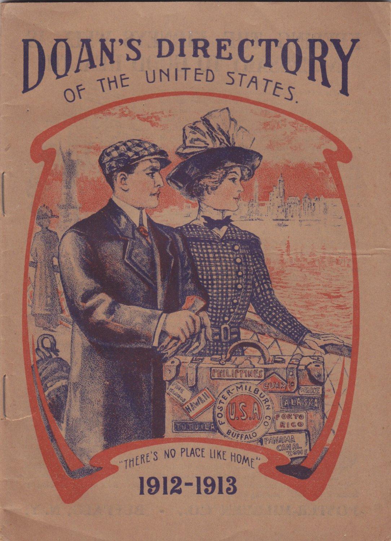 Doans Directory 1912 - 1913