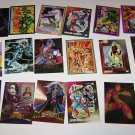 18 Marvel Super Heroe Trading Cards