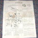 Instruction sheet Ford Carburetor model F-1