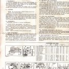 Instruction sheet Carter Model WCD Carburetor
