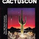 Cactuscon Sept 1987 Science Fiction Program Guide