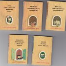 Lot of 5 Tiny Golden Book (s)