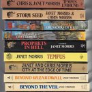 Lot of 11 Janet Morris Fantasy/Science Fiction Paperbacks