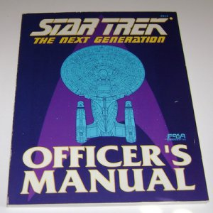 Star Trek : Officer's Manual (1988, Paperback)