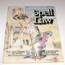 Spell Law ( H.C 1984) Spell Rules Adaptable to Any Fantasy Role Playing System