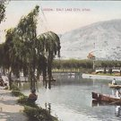 Vintage Postcard Lagoon Slat Lake City 1909