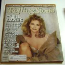 Rolling Stone Magazine Issue # 484 1986 Cybil Shepherd cover