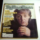 Rolling Stone Magazine Issue # 482 1986 Paul McCartney cover