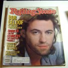 Rolling Stone Magazine Issue # 462 1985 Bob Geldof cover
