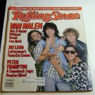 Rolling Stone Magazine Issue # 477 1986 Van Halen cover
