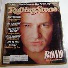 Rolling Stone Magazine Issue # 510 1987 Bono of U2 cover