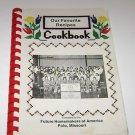 FHA Future Homemakers of America Cookbook Polo Missouri 1985