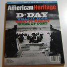 "American Heritage Magazine June July 1994 ""D-Day"" Special Fiftieth Issue"