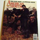 "American Heritage Magazine March 1990 "" Civil War-Special Issue """