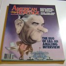 "American Heritage Magazine May/June 1990 "" LBJ Feature """
