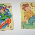 2 Whitman Childrens Books Elves & Shoemaker & The Best Surprise of All