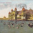 Vintage Postcard Saltair Beach Bathing in Salt Lake
