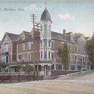 Vintage Postcard Navajo Hotel ( Barker House ) Manitou Colorado