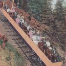 Vintage Postcard Incline Railway Ride Mountain in Manitou Colorado