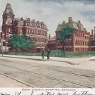 Vintage Postcard Cook County Hospital Chicago ILL