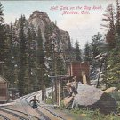 Vintage Postcard Hell Gate on the Road Manitou Colorado