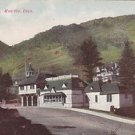 Vintage Postcard Ute Iron Springs Manitou Colorado