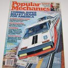 Popular Mechanics November 1983 Super Bullet Trains for America - Datsun 300ZX