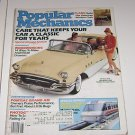 Popular Mechanics May 1985 Care for your Classic Car 60 page section