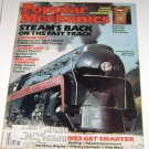 Popular Mechanics September 1985 Steam's Back Steam Locomotives