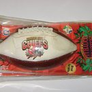 Collectible Football Kansas City Chiefs miniature inflatable football