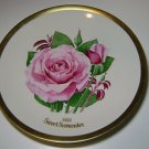 The American Rose Society, 1983 Sweet Surrender Plate