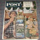 Saturday Evening Post Aug 25 1952 Stevan Dohanos Cover Art 52 Olympics article