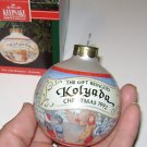"Hallmark Keepsake Ornament Glass Bulb Kolyda ""The Gift Bringers"" series"