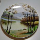 "Japan "" Handpainted "" Decorative Scene Plate"