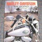 Harley Davidson by Grant Leonard (1993, Hardcover)