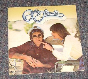 "Captain and Tennille ""Song of Joy"" Vinyl LP Record 1976"