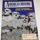 American History Illustrated 1991 Mount Rushmore Shrine of Democracy