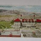 Vintage Postcards Colorado Springs & Antlers Hotel 1909