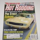 Hot Rodding 1996 Pro Street Camaro Torque Converter Selection Force Wins Indy